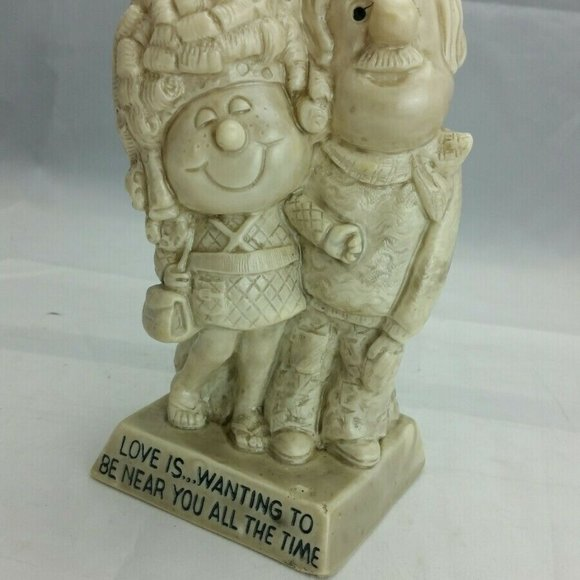 "1971 Figurine Russ Berries Love 7"" Tall"